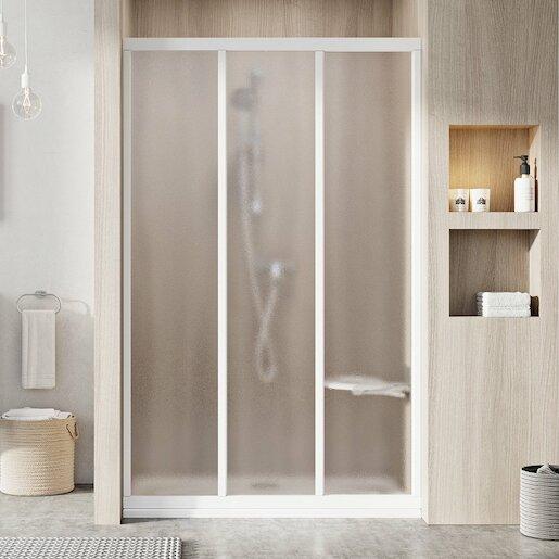 Sprchové dvere 100x188 cm Ravak Supernova biela 00VA0102ZG