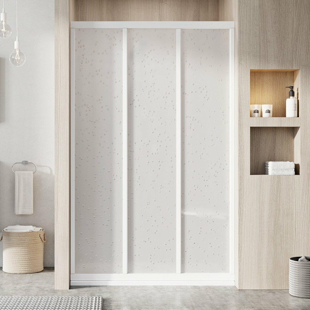 Sprchové dvere 110x188 cm Ravak Supernova biela 00VD010211