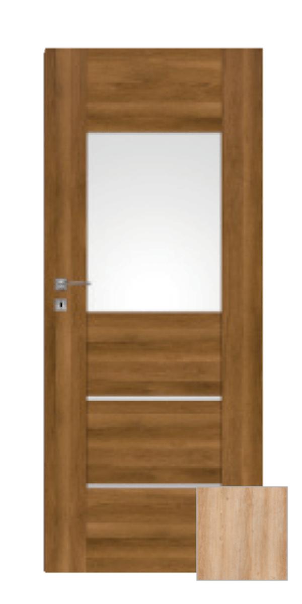 Interiérové dvere Naturel Aura ľavé 60 cm brest AURA2J60L