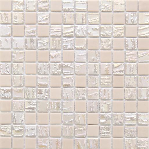 Sklenená mozaika Bamboo Vaniglia 30x30 cm mat / lesk BAMBOOVA50