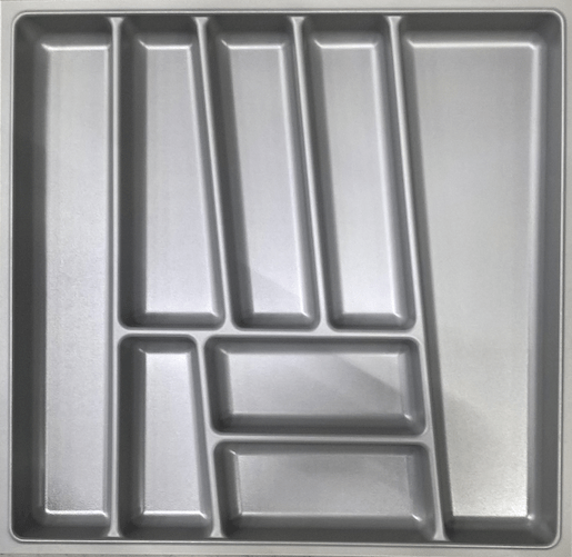 Príborník PVC 60cm, šedý BE60