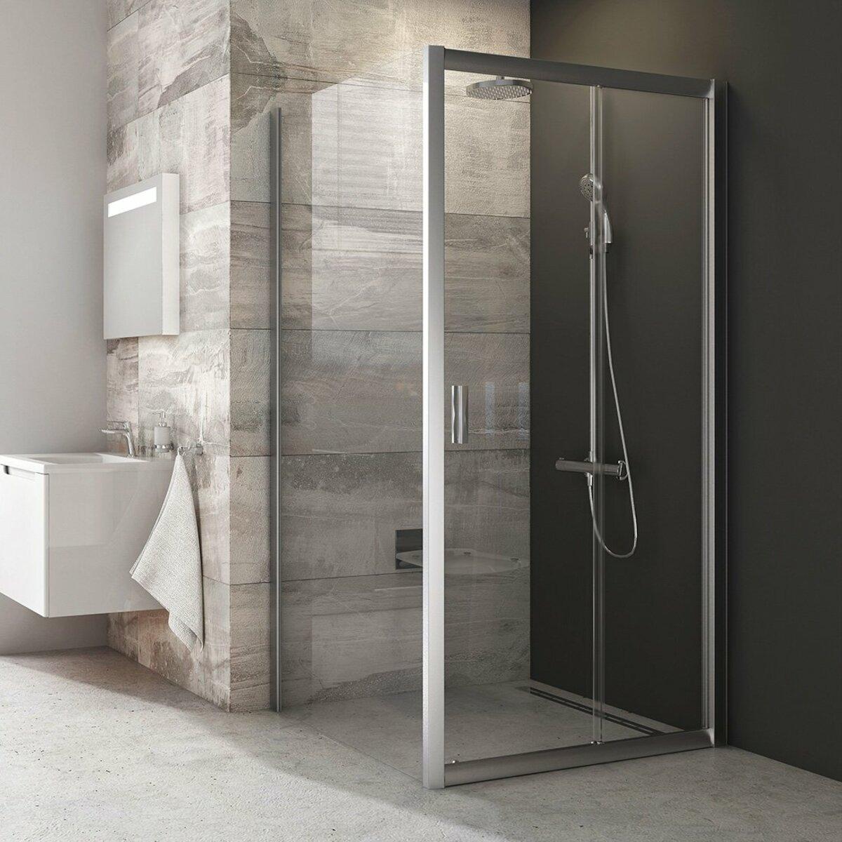 Sprchové dvere 100x190 cm Ravak Blix biela 0PVA0U00Z1