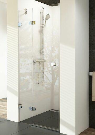 Sprchové dvere Ravak Brilliant jednokrídlové 100 cm, sklo číre, chróm profil, ľavé 0ULAAA00Z1