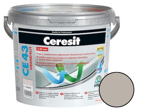 Škárovacia hmota Ceresit CE 43 šedá 5 kg CG2WA CE43507