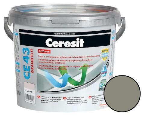 Škárovacia hmota Ceresit CE 43 antracite 5 kg CG2WA CE43513