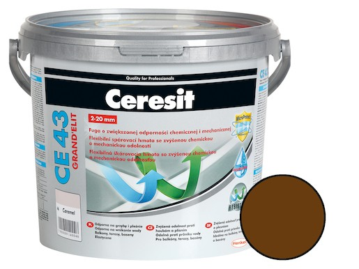 Škárovacia hmota Ceresit CE 43 chocolate 5 kg CG2WA CE43558