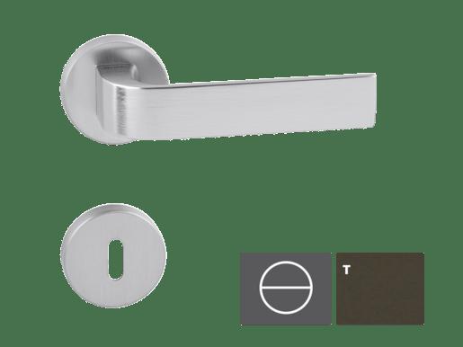 Kľučka CINTO-R, titán, WC CINTORTWC