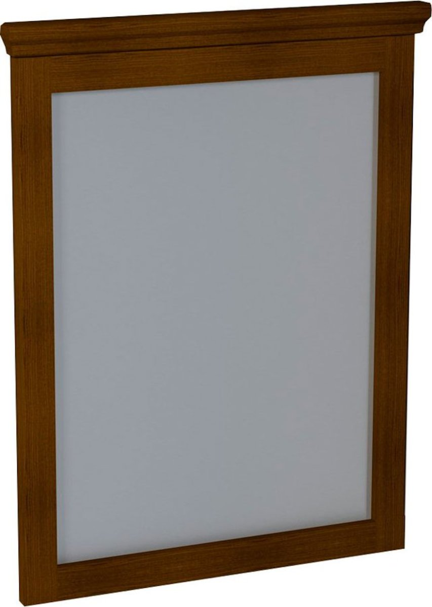 Zrkadlo Sapho Cross 60x80 cm Mahagon CR011