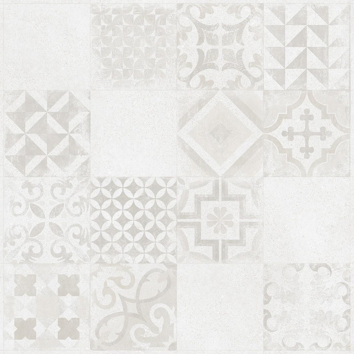 Dlažba Rako Betonico bielošedá 60x60 cm mat DAK63795.1