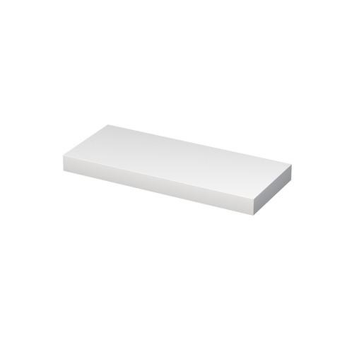Doska pod umývadlo Naturel Ratio 120x10x50 cm biela lesk DE100.120.9016G