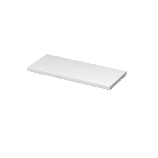 Doska pod umývadlo Naturel Ratio 120x5,4x50 cm biela lesk DE54.120.9016G