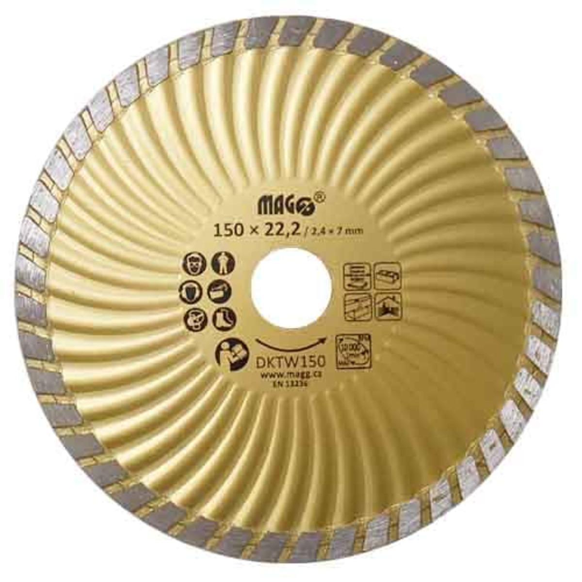 Diamantový Kotúč segmentový 150 mm PHT DKTW150