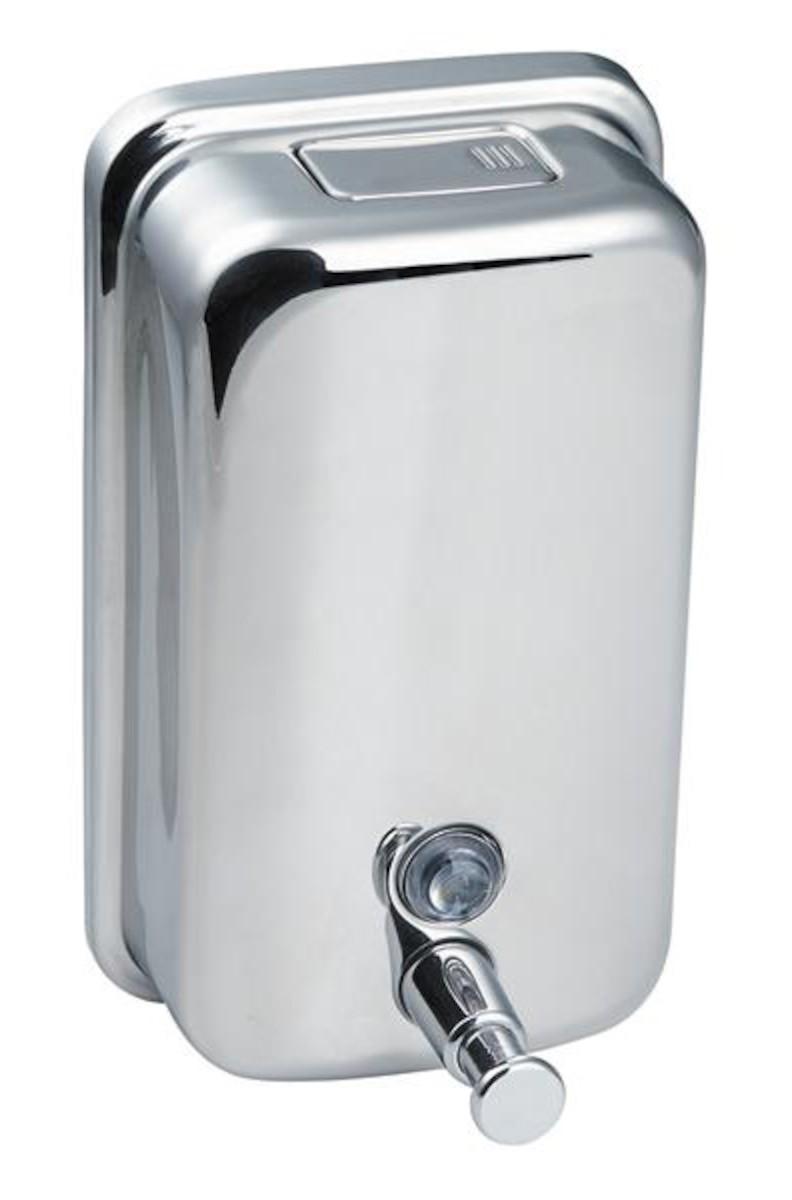 Dávkovač mydla Multi nerez DM850NRZ, objem 850 ml