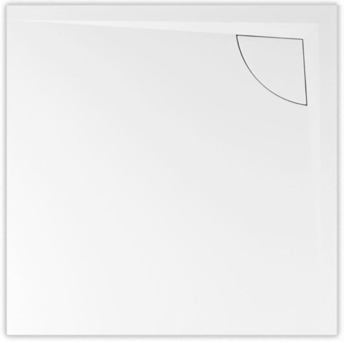 Vanička Dorne-K 90/90/4 cm litý mramor