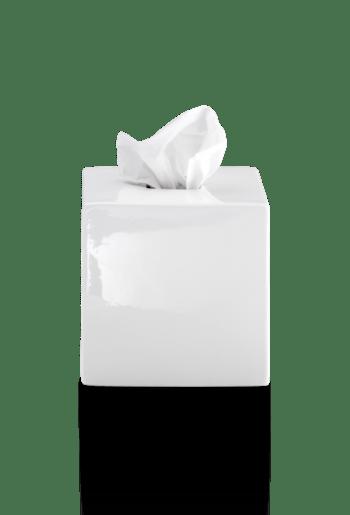 Box na vreckovky Decor Walther biely keramický, 0849850