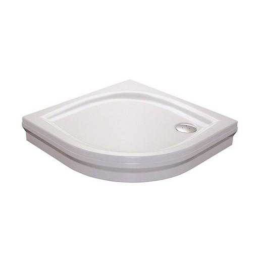 Sprchová vanička štvrťkruhová Ravak Elipso 90x90 cm akrylát A227701410