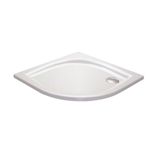 Sprchová vanička štvrťkruhová Ravak Elipso 90x90 cm liaty mramor XA237711010