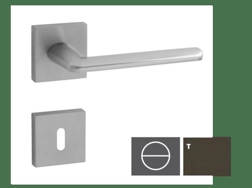 Kľučka Eliptic-HR, titán, WC ELIPTICAHRTWC