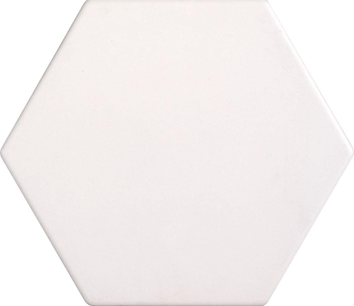 Dlažba Tonalite Examatt bianco 15x17 cm mat EXM6400