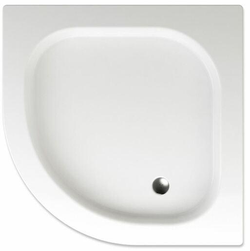 Sprchová vanička štvrťkruhová Teiko Flores 90x90 cm akrylát V131090N32T05001