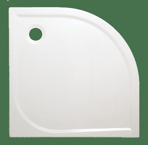 Sprchová vanička štvrťkruhová Siko Flat 90x90 cm akrylát FLA90S