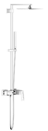 Sprchový systém Grohe Euphoria Cube System s pákovou batériou chróm 23147001