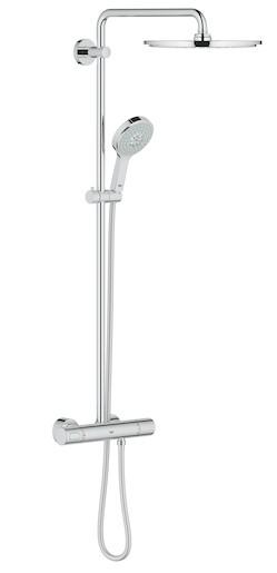 Sprchový systém Grohe Rainshower System s termostatickou batériou chróm 27968000