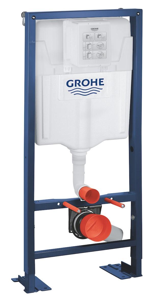 Nádržka do lehké stěny k WC Grohe Rapid SL 38340001