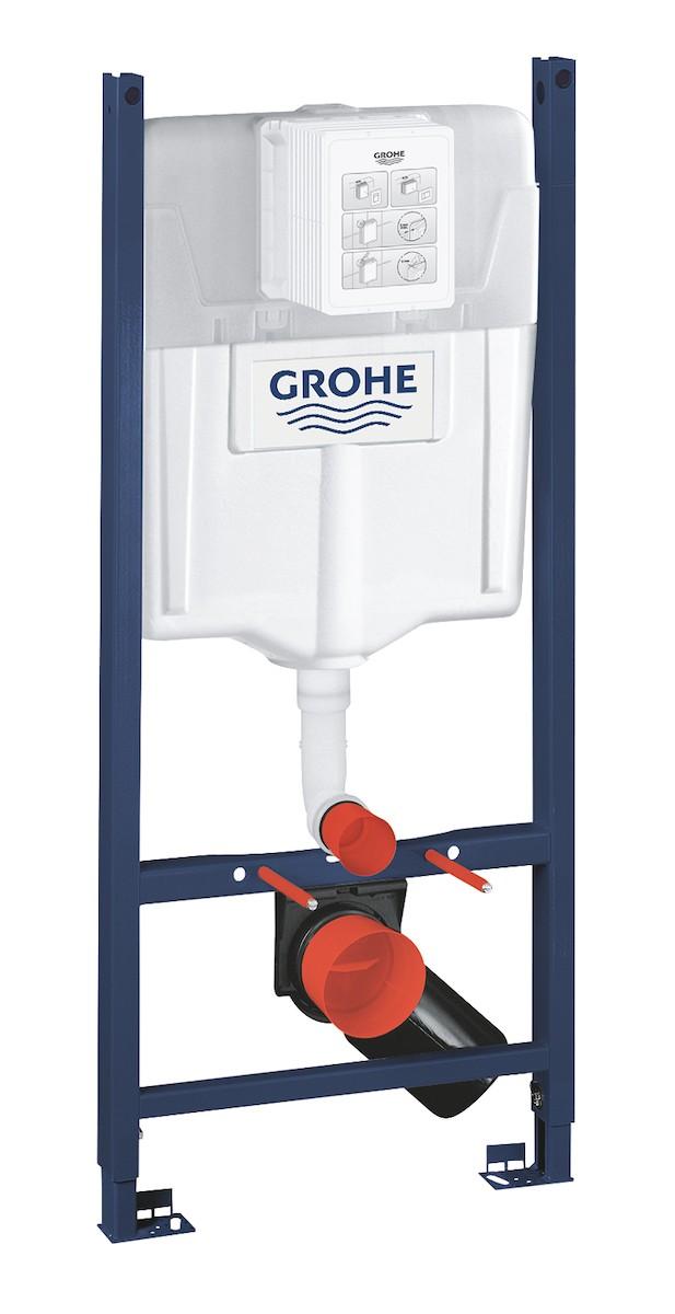 Nádržka do lehké stěny k WC Grohe Rapid SL 38840000