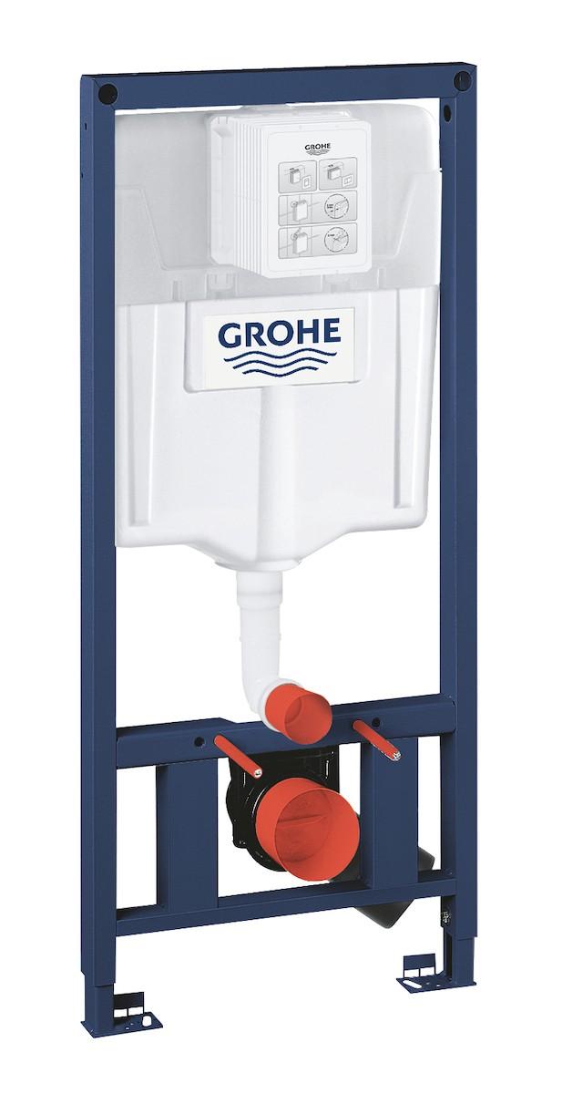 Nádržka do lehké stěny k WC Grohe Rapid SL 38897000