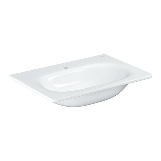 Umývadlo Grohe Essence Ceramic 70x48,5 cm alpská biela otvor pre batériu uprostred 3956400H