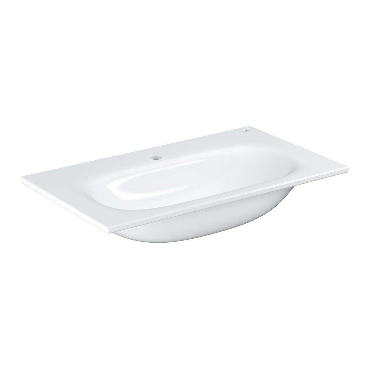 Umývadlo Grohe Essence Ceramic 80x46 cm alpská biela otvor pre batériu uprostred 3956700H