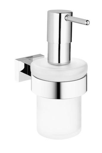 Dávkovač mydla Grohe Essentials Cube chróm 40756001