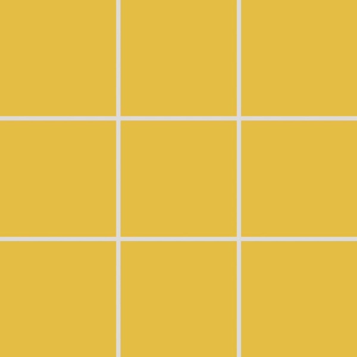 Mozaika Rako Color Two tmavo žltá 10x10 cm mat GAA0K142.1