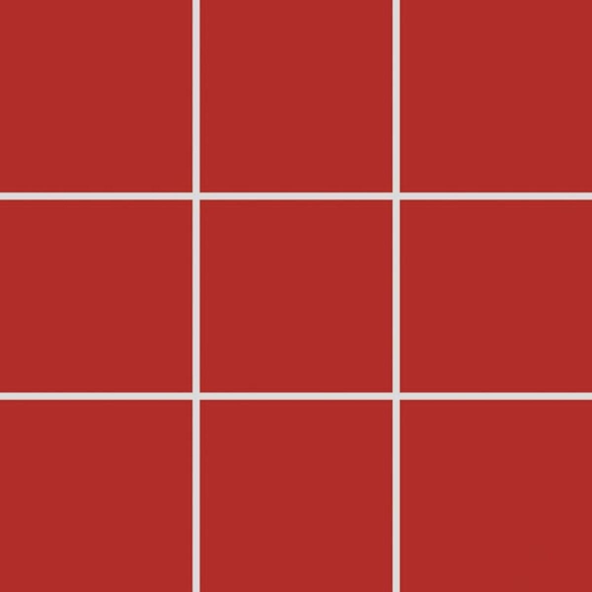 Mozaika Rako Color Two červená 10x10 cm mat GAA0K459.1