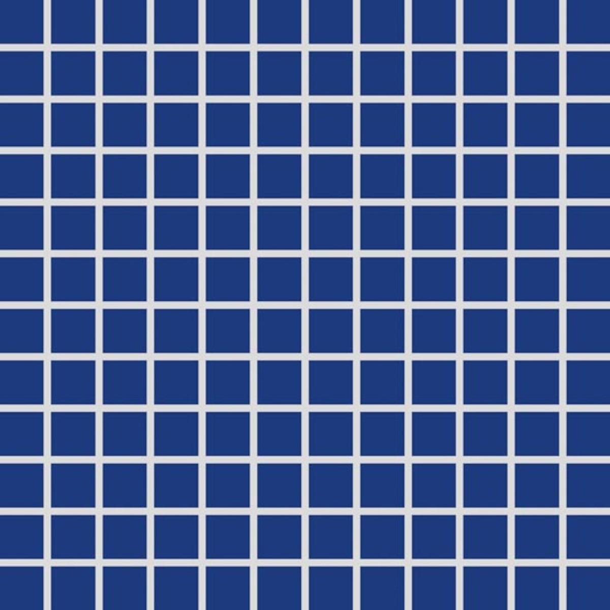 Mozaika Rako Color Two kobaltovo modrá 30x30 cm mat GDM02005.1