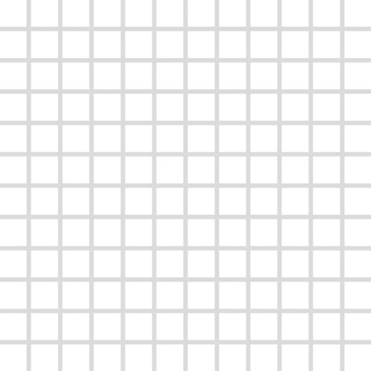 Mozaika Rako Color Two biela 30x30 cm mat GDM02023.1
