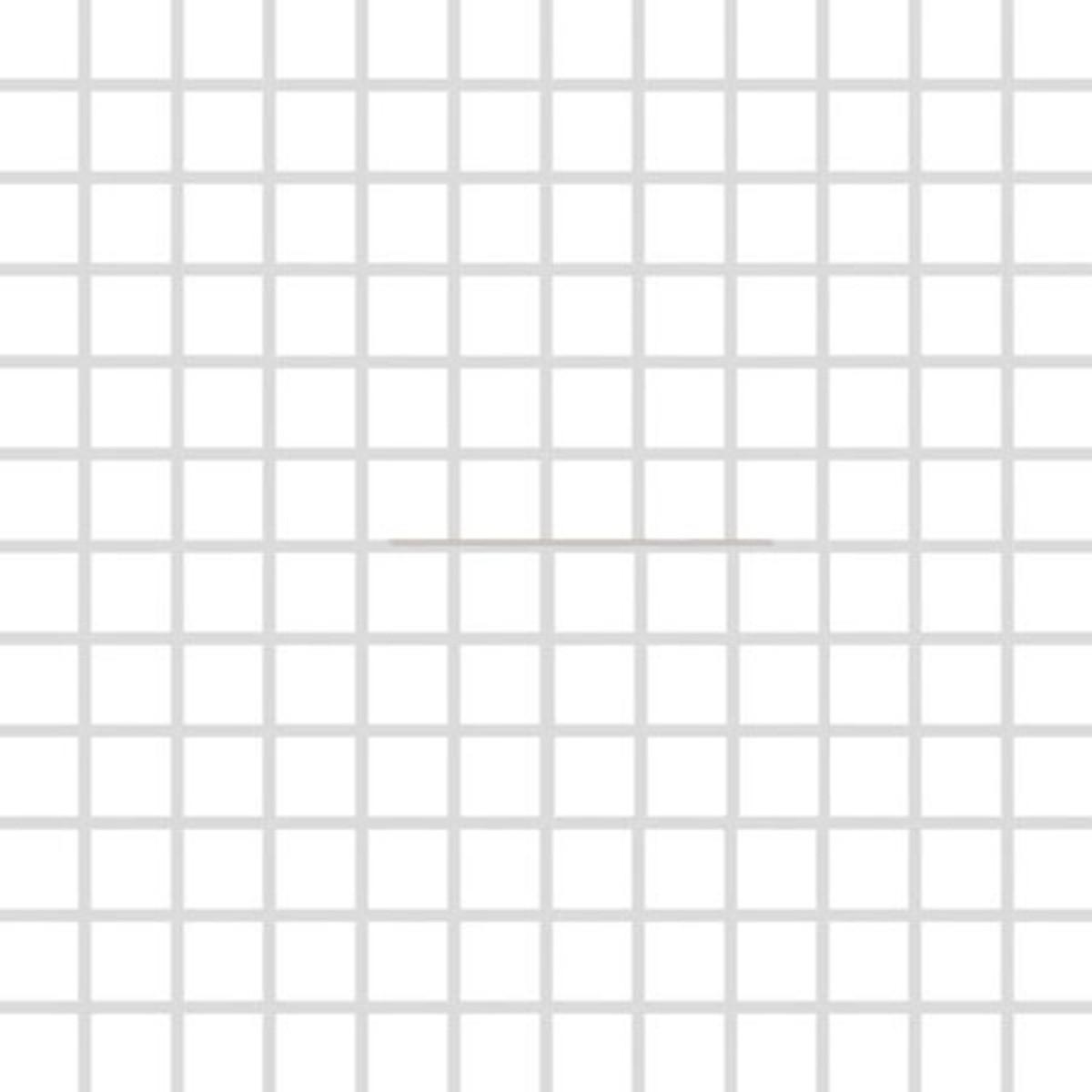Mozaika Rako Color Two biela 30x30 cm lesk GDM02052.1
