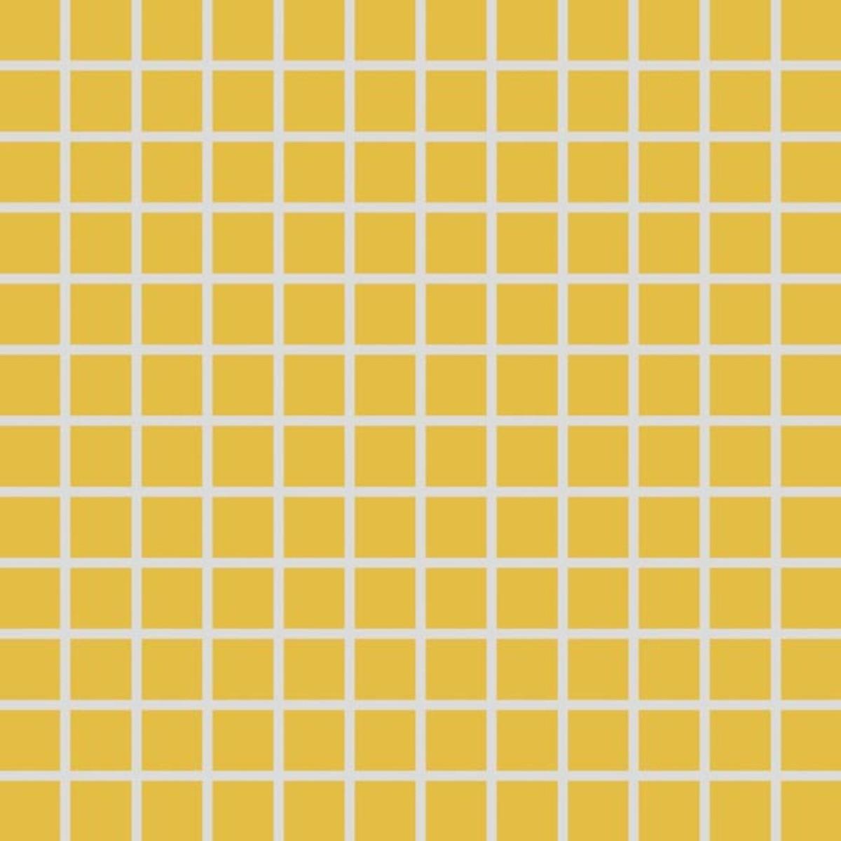 Mozaika Rako Color Two tmavo žltá 30x30 cm mat GDM02142.1
