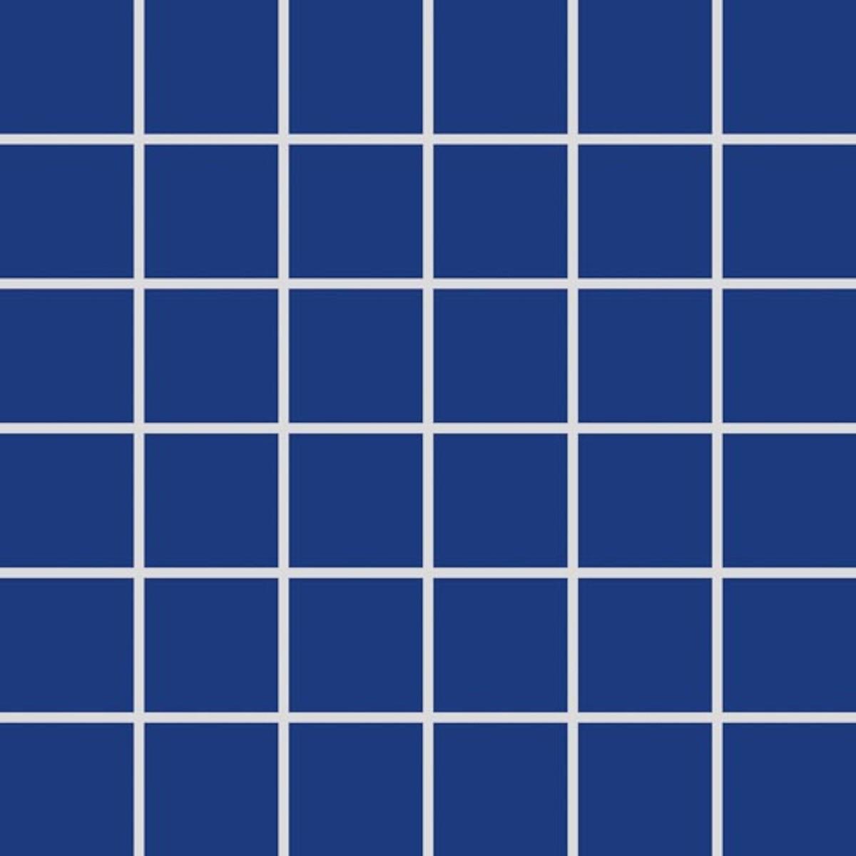 Mozaika Rako Color Two kobaltovo modrá 30x30 cm mat GDM05005.1