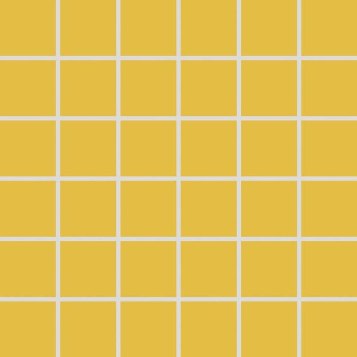 Mozaika Rako Color Two tmavo žltá 30x30 cm mat GDM05142.1