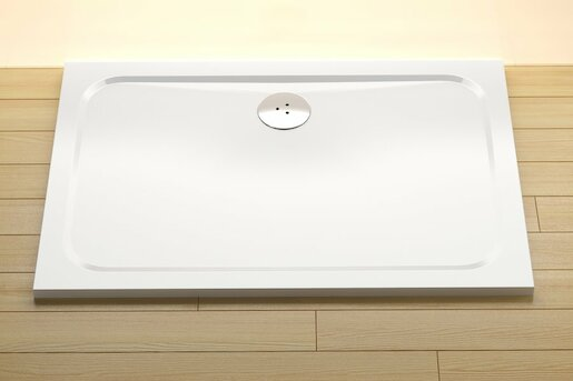 Sprchová vanička obdĺžniková Ravak Chrome 110x80 cm liaty mramor XA04D401010