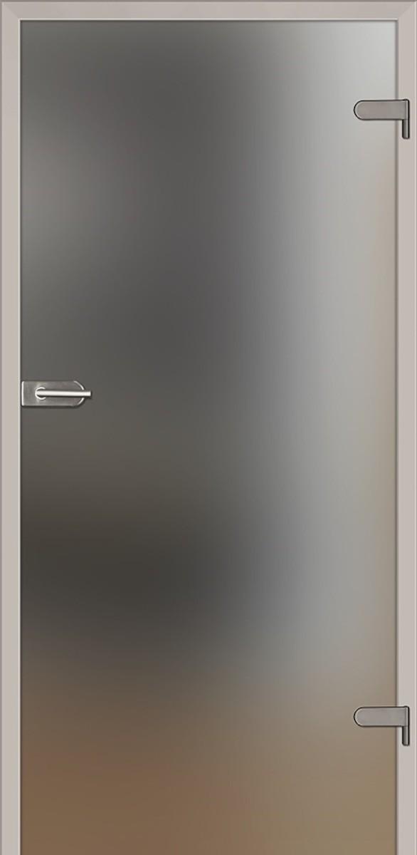 Sklenené dvere Naturel Glasa pravé 80 cm matné GLASA1B80P