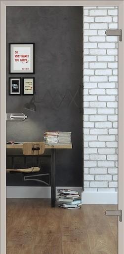 Sklenené dvere Naturel Glasa ľavé 70 cm číre GLASA1C70L