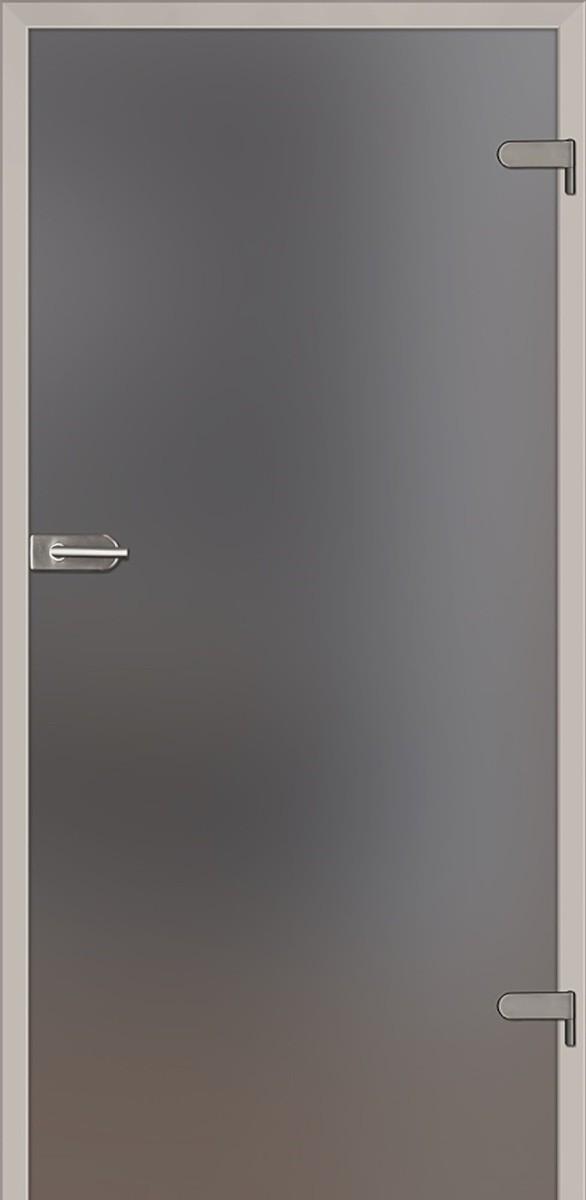 Sklenené dvere Naturel Glasa pravé 80 cm grafit GLASA1G80P