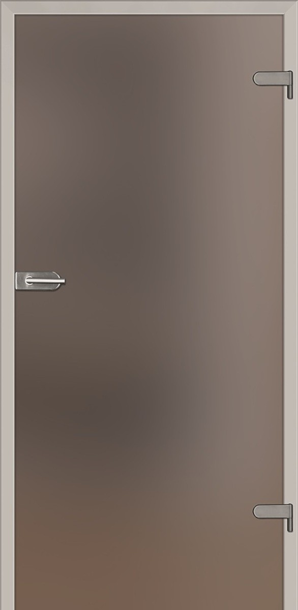 Sklenené dvere Naturel Glasa ľavé 60 cm hnedé GLASA1H60L