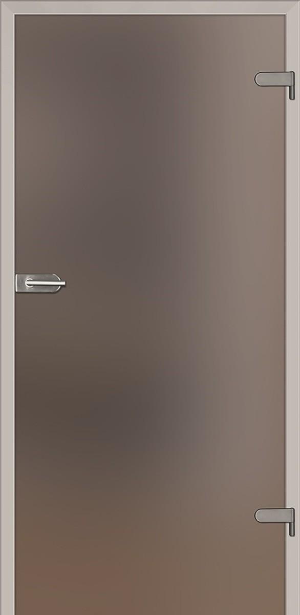 Sklenené dvere Naturel Glasa pravé 80 cm hnedé GLASA1H80P