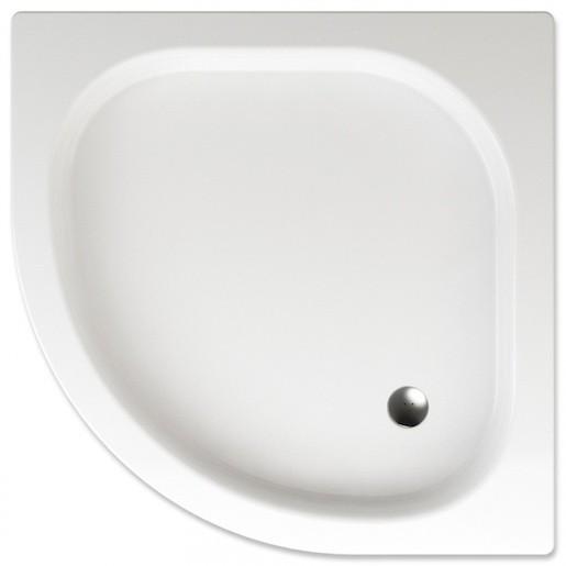 Sprchová vanička štvrťkruhová Teiko Gomera 80x80 cm akrylát V131080N32T03001