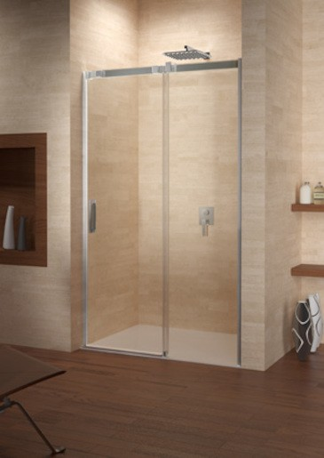 Sprchové dvere 100x195 cm Riho OCEAN 100 chróm lesklý GU0200100
