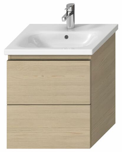 Kúpeľňová skrinka pod umývadlo Jika Mio-N 51,4x44,5x59 cm v dekore jaseň H40J7134013421